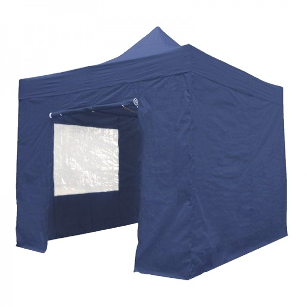Easy Up Tent 3x3m Blauw