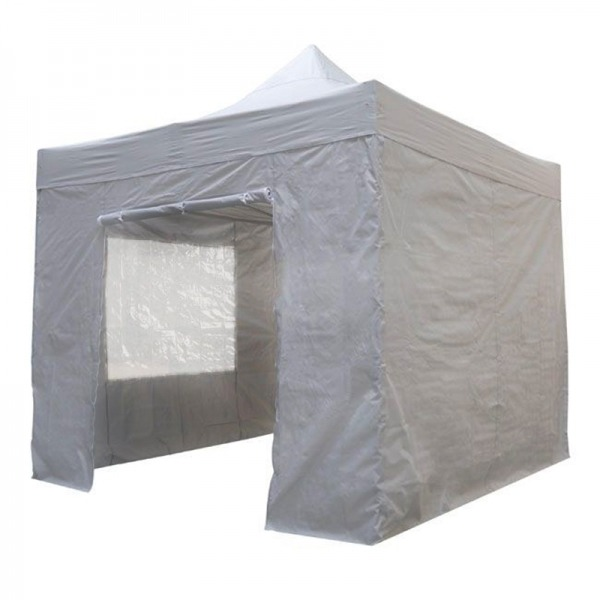 Easy Up Tent 2x2m Grijs