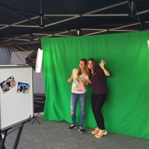 Greenscreen Foto Booth